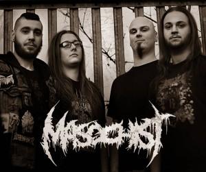 Masochist - Band Pic